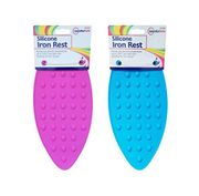 Silicone Iron Rest Pad Ironing Heat Resistant Mat Accessory Dotted Bubbled Hot
