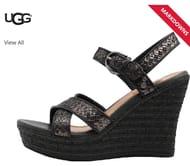 UGG Womens Jazmine Sandals Black
