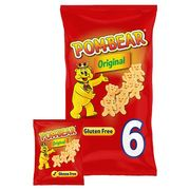 Pom Bear Original Potato Snacks 6 X 15G Pom Bear Original Potato Snacks 6 X 15G