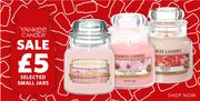Selected Yankee Candle Small Jars Only £5