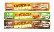 Fox's Crunch Biscuits (3 Variety's) Half Price