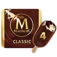 Magnum Classic or White Chocolate Ice Cream 4 X 110ml