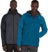 Regatta Mens Alkin Waterproof Breathable Shell Jacket Black or Blue