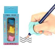 3pcs/Pack Pencil Grips Writing Correction Device Handwriting Aid Pencil