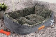£20 Off Faux Suede Pet Bed 3 Colours!
