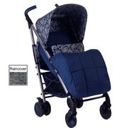 My Babiie MB51 Stroller *Katie Piper Collection* (Navy Hearts)-60% Off with Code