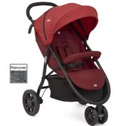Joie Litetrax 3 Wheel Stroller (Cranberry) - Save £70 with Code