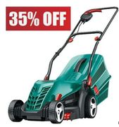 SAVE £45 at AMAZON. Bosch Rotak 34R Electric Lawn Mower
