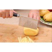 New Potato Fold Cutter Kitchen Accessories Vegetable Cutting Knives
