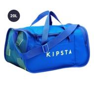 Kipsta Kipocket Sports Bag 20 Litres - Blue/yellow