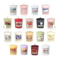 Yankee Candle Mixed Popular Fragrances 18 Votive Candle Value Bundle