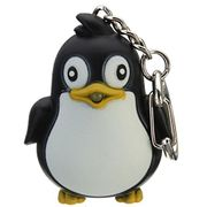 Cute Penguin Keyring LED Torch