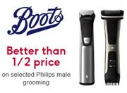 Philips MENS SHAVERS - Better than 1/2 Price at Boots