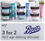 3 for 2 Offer - No7 Age-Defying Skincare