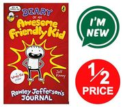 Diary of an Awesome Friendly Kid (NEW! Wimpy Kid Book)
