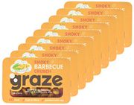 Pack of 9 - Graze Smoky Barbecue Crunch Savoury Vegetarian Snacks