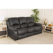 £700 off Chicago Bonded Leather Three Seater Recliner Sofa