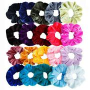 20 Pcs Hair Scrunchies Velvet Elastic Hair Bands Scrunchy Hair Ties