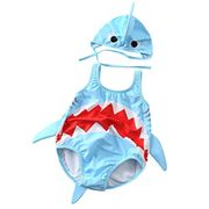 Baby Boys Girls Shark Swimwear
