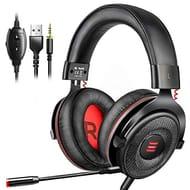 Gaming Headset, EKSA Virtual 7.1 Surround Sound Gaming Headset @Amazon £21.69