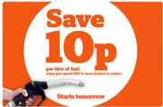 10p a Litre off Fuel When You Spend at Least £60 at Sainsburys from Thursday