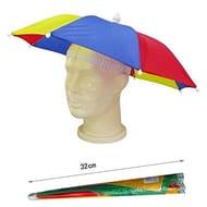 Multi Colour Umbrella Rain Hat