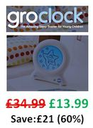 PRICE DROP! SAVE £21. Stop the kids waking you up! Gro-Clock Sleep Trainer
