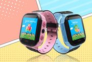 Child Safety GPS Tracker Smart Watch - Pink & Blue!