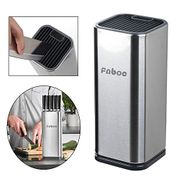 Stainless Steel Knife Block at Amazon