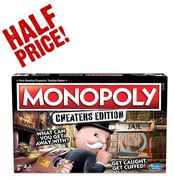 1/2 PRICE! Monopoly Cheaters Edition