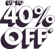 Up to 40% off Using Code on Selected Lines