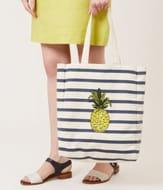 HOBBS - Pineapple Canvas Bag