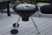 George Foreman Charcoal Kettle Barbecue Grill