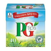 PG Tips 40 Pyramid Teabags Only £1 at Poundshop.com