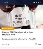 Enjoy a Free Bottle of Wine from Majestic