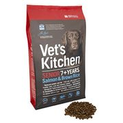 Vet's Kitchen Salmon and Brown Rice Senior Complete Dog Food 7.5kg