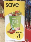 £1 off All Pick & Mix Cups for Bank Holiday Weekend