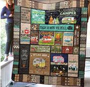 FA'ST Direct This is How We Roll Camping Blanket Quilt
