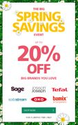 Lakeland - save up to 20% in Our BIG SPRING SAVINGS Event