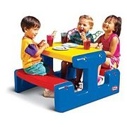 Little Tikes - Childrens Picnic Table - 20% Off