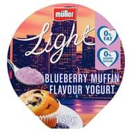 Muller Light Blueberry Muffin Yogurt 160 G - *Any 8 for £4.00