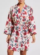Julien Macdonald Floral Satin Dressing Gown - HALF PRICE