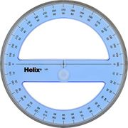 Helix 15cm / 360 Degree Protractor Angle Measure