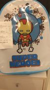 Clintons £1 Sale - Marvel Backpack Was £15.00 Now £1 - Liverpool