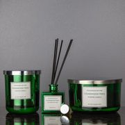 Scented Candle & Diffuser Set Cedarwood Trail 3pc