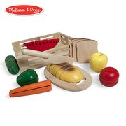 Melissa & Doug Cutting Food Wooden Play Food (Pretend Play
