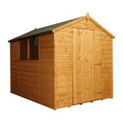 SAVE £50 - Mercia Shiplap Apex Shed - 8 X 6ft