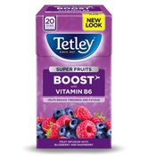 Tetley Super Fruits Boost with Vitamin B6 (5 types to choose from)