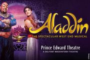 Aladdin the Musical London Theatre Show & West End Dining