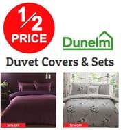 Duvet Covers & Sets - 50% off at Dunelm
